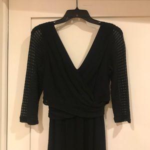 Amadi Anthropologie Crossover Dress